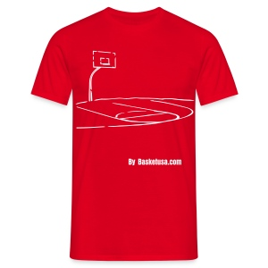 T-Shirt Man Terrain BasketBall - T-shirt Homme