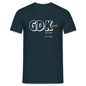 Men's GDK bruv (dark colours) - Men's T-Shirt