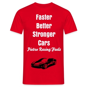N-GEN PIETRO FUELS FASTER BETTER STRONGER TSHIRT - Men's T-Shirt