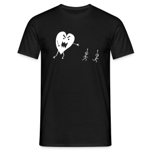Monster Heart - Men's T-Shirt