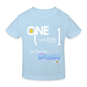 Kids' One with the 1 - Kids' Organic T-shirt