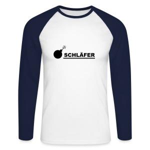 Schläfer - Männer Baseballshirt langarm