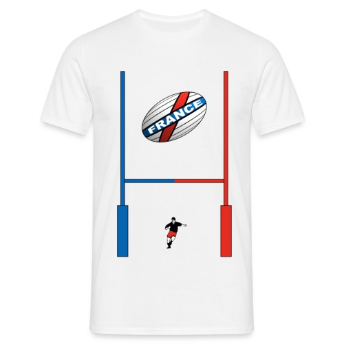 t-shirt rugby french design - T-shirt Homme