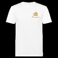 T-Shirts ~ Männer Bio-T-Shirt ~ Zeesboot »Fischland«, dezent