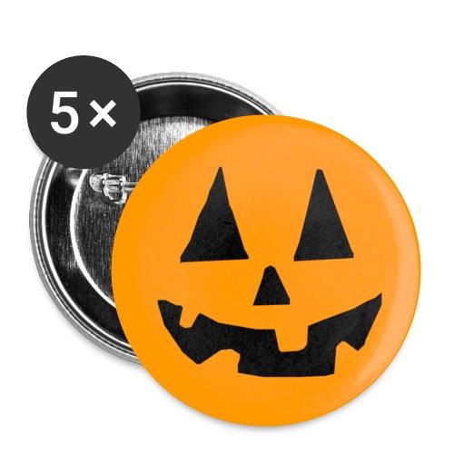 Halloween - Confezione da 5 spille piccole (25 mm)
