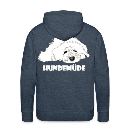 Hundemüde - Männer Premium Hoodie
