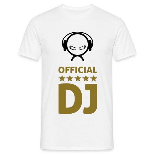 Official DJ 1 - Männer T-Shirt