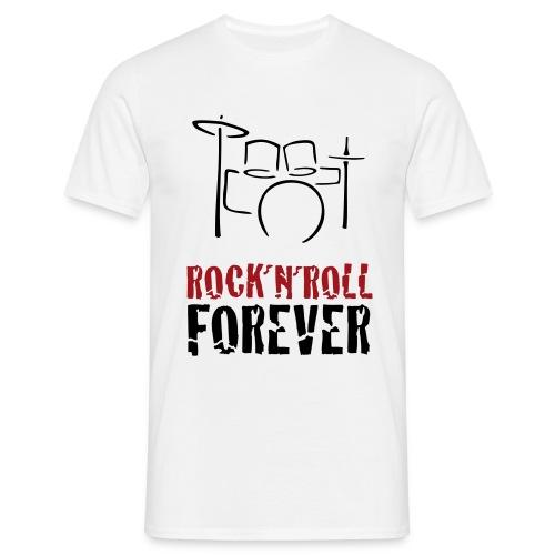 Drumm N´ Roll - Männer T-Shirt