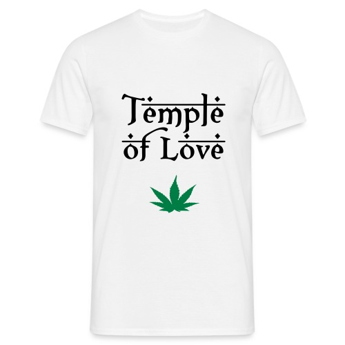 Temple Of Love - Männer T-Shirt