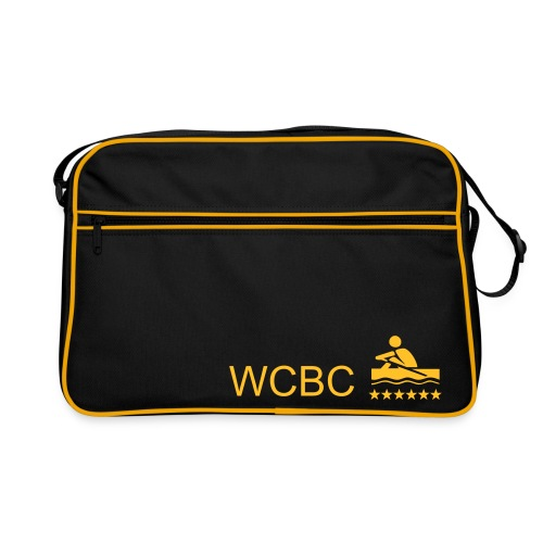 WCBC zipper bag - Retro Bag