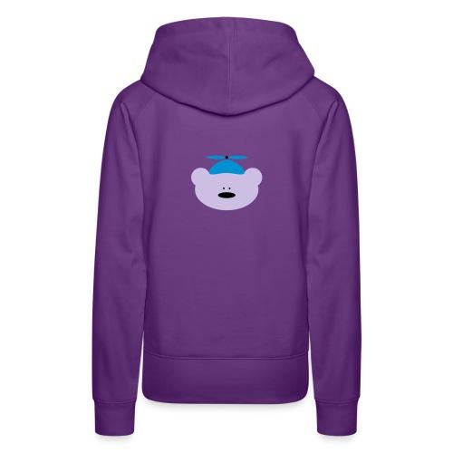 AV8 bear polar  - Women's Premium Hoodie
