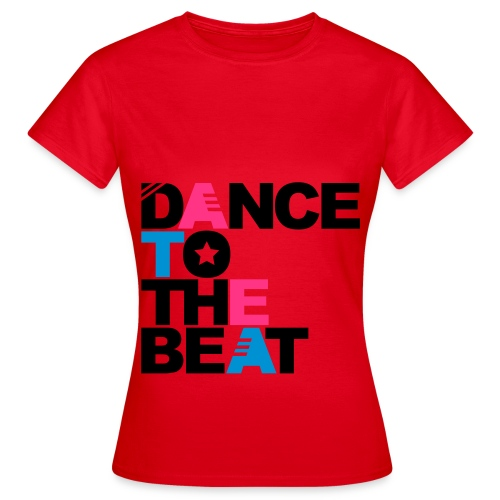 Female Dance 2 Beat - Women's T-Shirt