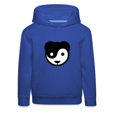 yin yang panda teddy Kinder Pullover