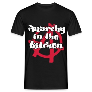 Anarchy in the Kitchen - Maglietta da uomo