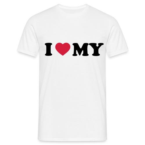luv my - Men's T-Shirt
