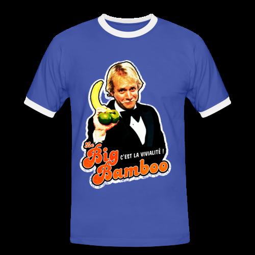 T-shirt contraste - Le Big Bamboo - The man - T-shirt contrasté Homme