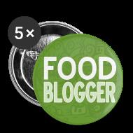 Bottoni & Spille ~ Spilla piccola 25 mm ~ Food Blogger