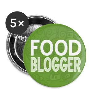 Food Blogger - Spilla piccola 25 mm