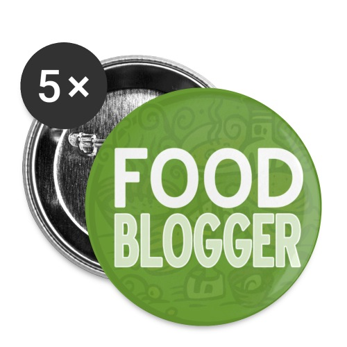 Food Blogger - Spilla piccola 25 mm