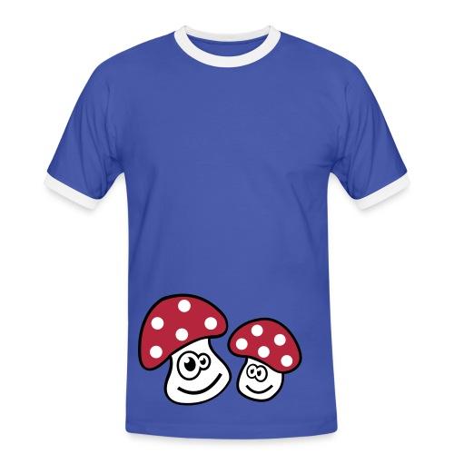 Mushroom to Goa /ToDo-Man   ***NEU*** - Männer Kontrast-T-Shirt