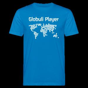 Globuli Player - Männer Bio-T-Shirt