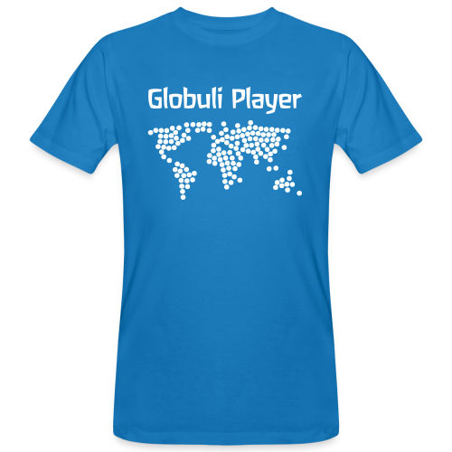Globuli Player - Männer Bio-T-Shirt
