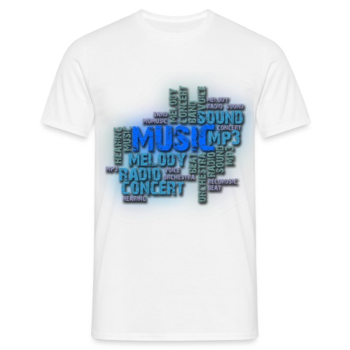 t shirt homme music - T-shirt Homme