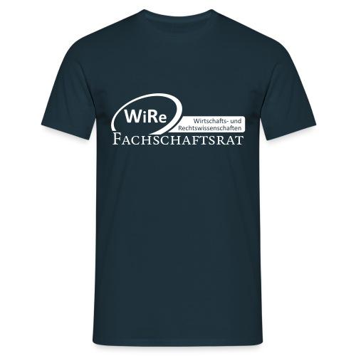 T-Shirt blau navy (männlich) - Männer T-Shirt