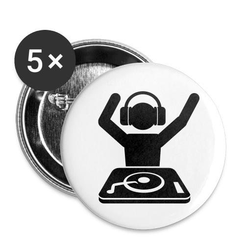 5 pins - Chapa grande 56 mm