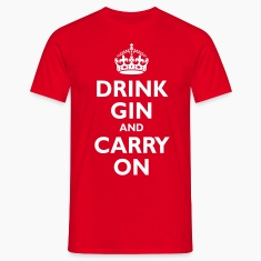 drink_gin_and_carry_on T-Shirts