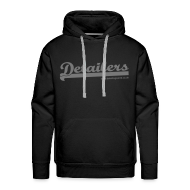 Hoodies & Sweatshirts ~ Men's Premium Hoodie ~ Detailing World 'Detailers' Hooded Fleece Top.