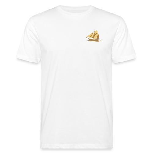 Zeesboot, dezent - Männer Bio-T-Shirt