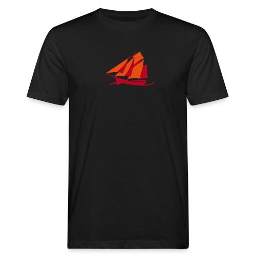 Zeesboot ohne Schriftzug - Männer Bio-T-Shirt
