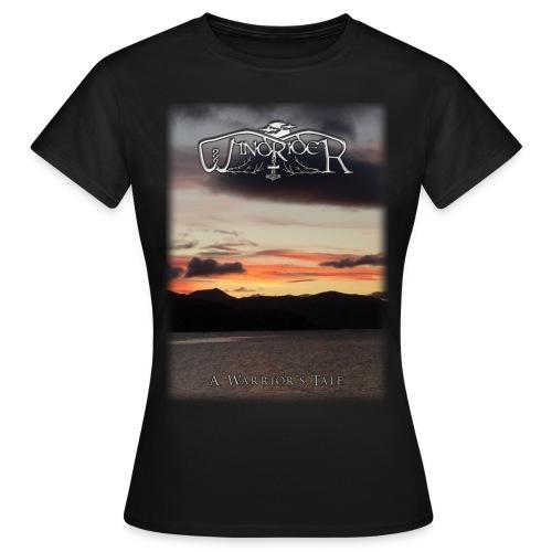 A Warrior's Tale - Girlie T Shirt - Women's T-Shirt