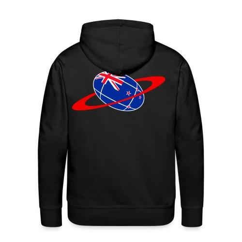 sweatshirt  new zealand rugby - Sweat-shirt à capuche Premium pour hommes