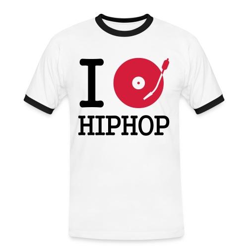 Love HipHop Shirt - Männer Kontrast-T-Shirt