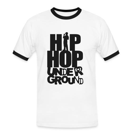 HipHop UnderGround Shirt - Männer Kontrast-T-Shirt