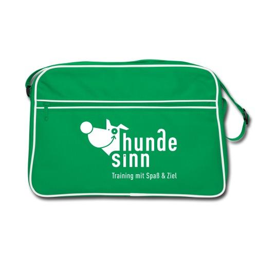 Retro-Tasche braun/sand - Retro Tasche