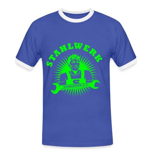 Stahlwerk e.V. Unterstützer Shirt super Fantastic multi - Männer Kontrast-T-Shirt