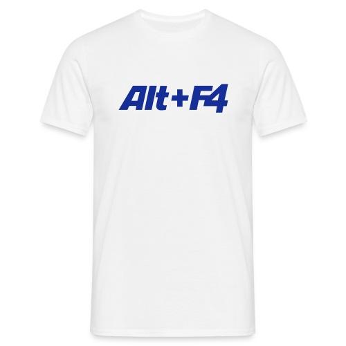 Noobshirt Alt + F4 - Männer T-Shirt