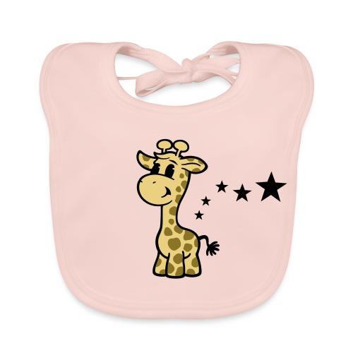 kleine Giraffe - Baby Bio-Lätzchen