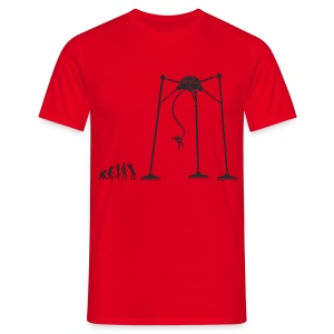 March of man, Martian End - Men's T-Shirt