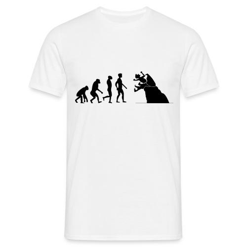 March of man, Graboid end - Men's T-Shirt