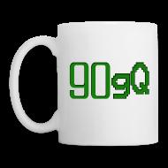 Muggar & tillbehör ~ Mugg ~ 90gQ mugg (Vit)