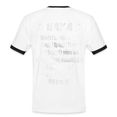 t-shirt haka maori - rugby - T-shirt contrasté Homme
