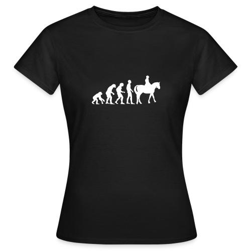 T-shirt femme : Evolution - T-shirt Femme