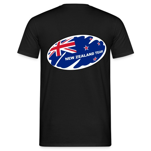 t-shirt new zealand rugby design - T-shirt Homme