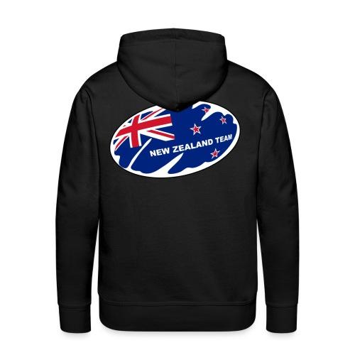 t-shirt new zealand rugby design - Sweat-shirt à capuche Premium pour hommes