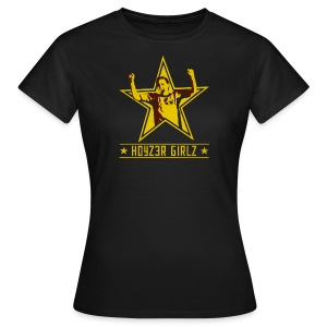 Girlz Captain dam-TS - T-shirt dam
