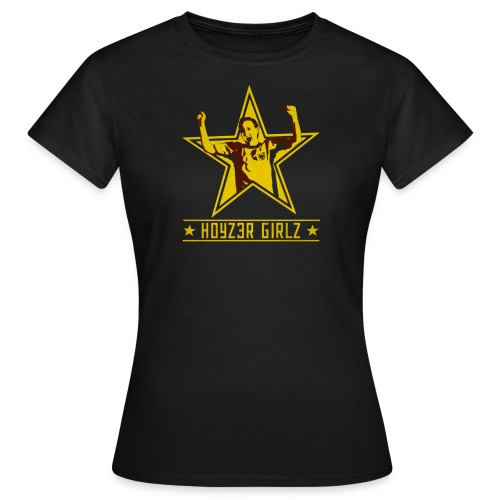 Girlz Captain dam-TS - T-shirt dam
